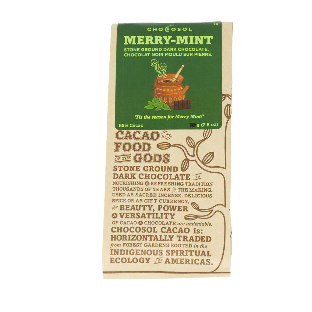 Mint Drinking Chocolate | 130g Bar