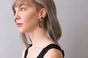 Python Jaws Earrings