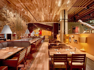 Collaborative multi-panel installation for Founding Farmers Restaurant in DC