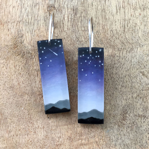 Blue ridge earrings