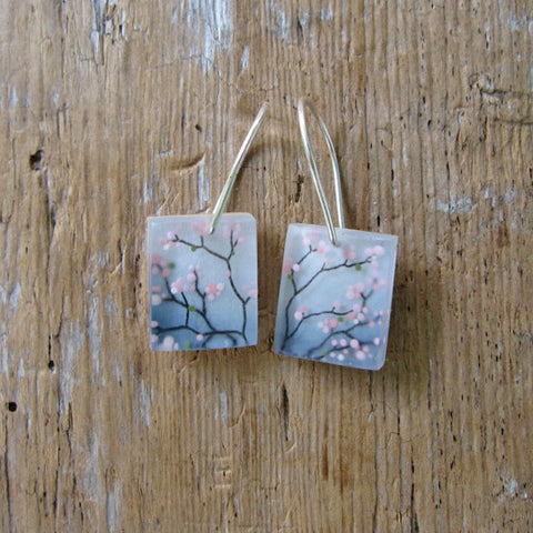 Cherry blossoms earrings