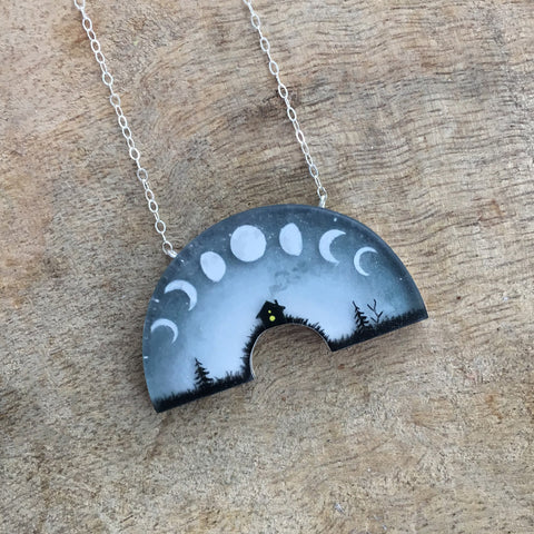 Cycle necklace