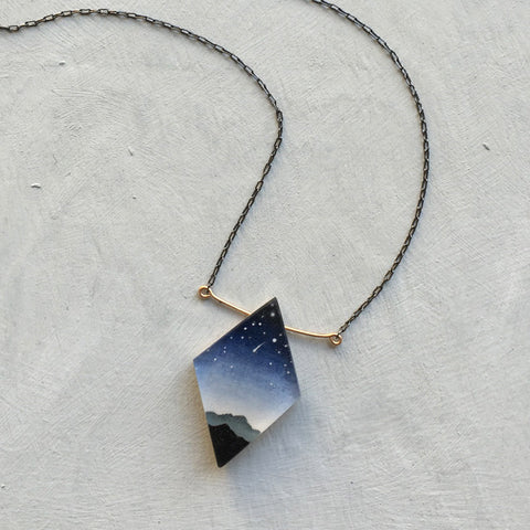 Diamond peaks necklace