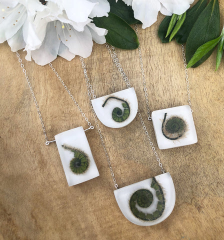 Fern Frond Necklaces