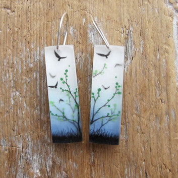 Field earrings