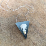 Finch Skull Ombre Necklace