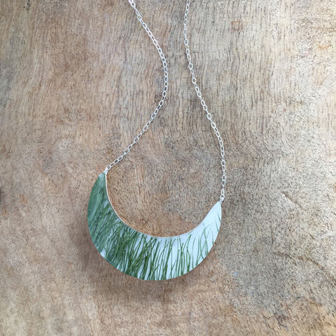 Grass Moon Necklace