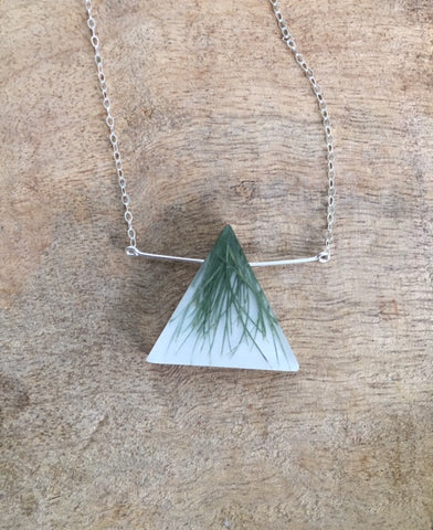 Triangle Grass Necklace