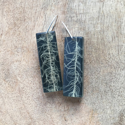 Usnea earrings