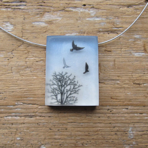 Above the trees necklace