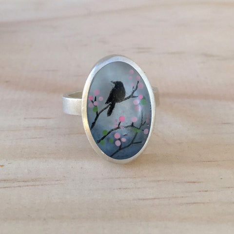 Cherry blossoms ring