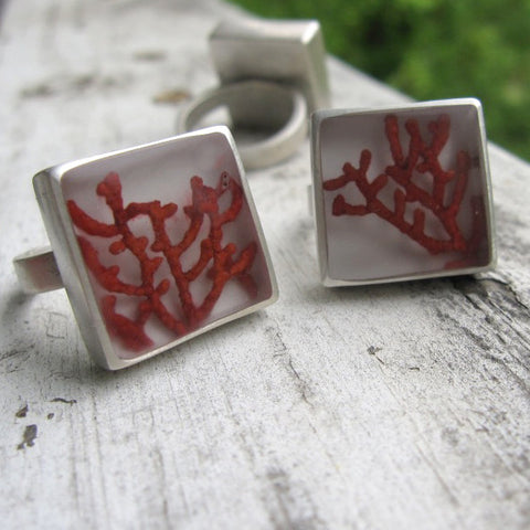 Sea fan coral rings