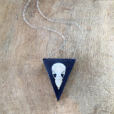 Finch Skull Necklace