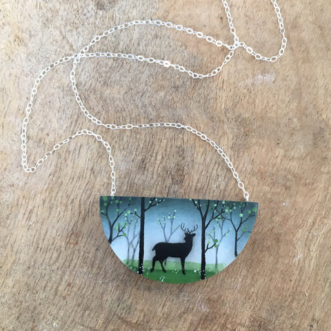 Spring Forest Necklace