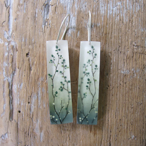 Tiny vines earrings