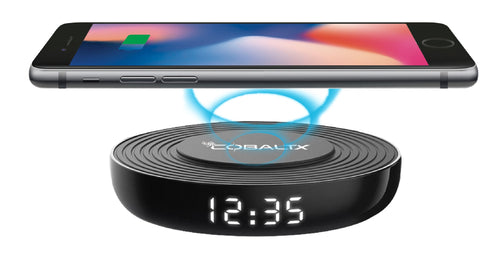Wireless Charging Pad With added Digital LED Clock- Qi Wireless Charger