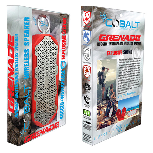 GRENADE - RUGGED & WATERPROOF SPEAKER