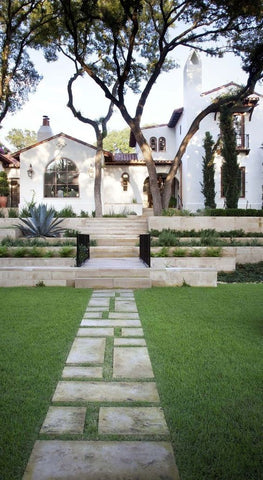 Spanish Revival Architecture - Exterior and Landscaping