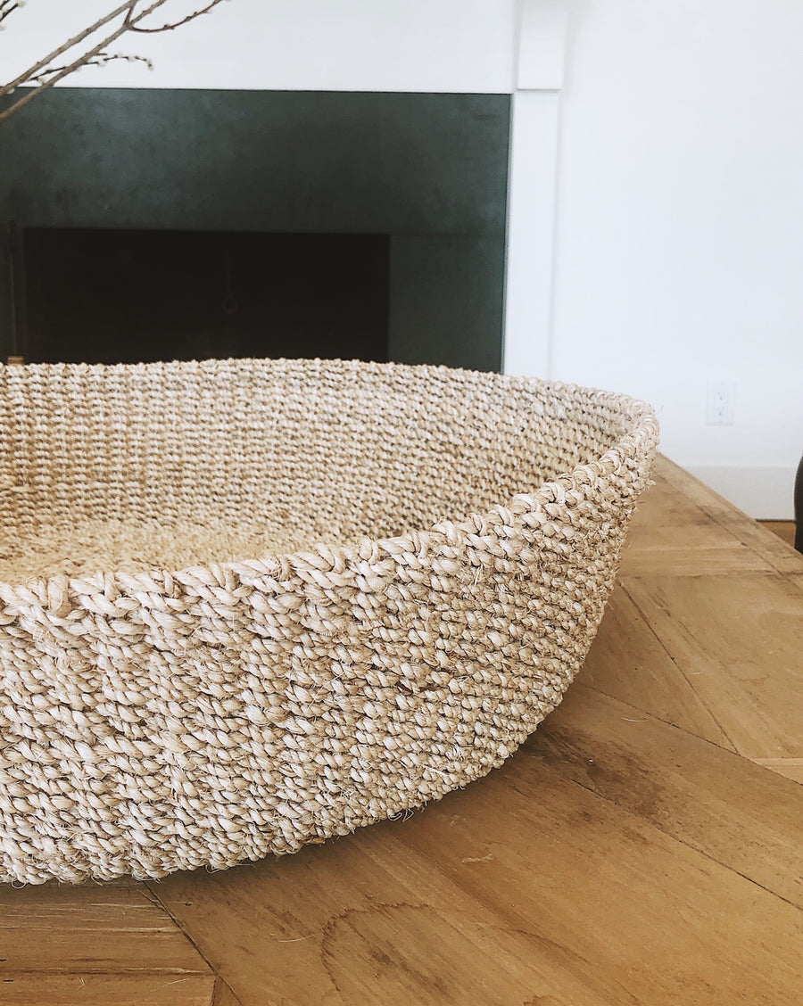 Abaca Basket Tray | Two sizes