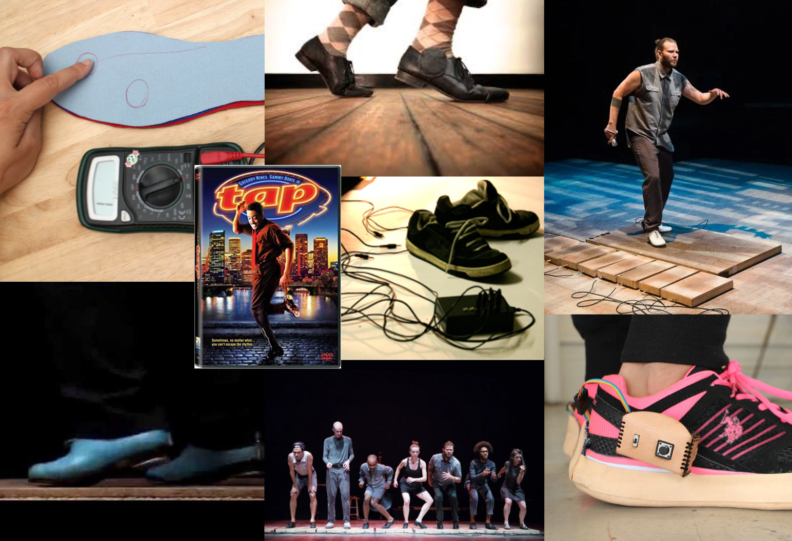Digital Tap Shoe Project Research - Collection of Digital Tap Projects