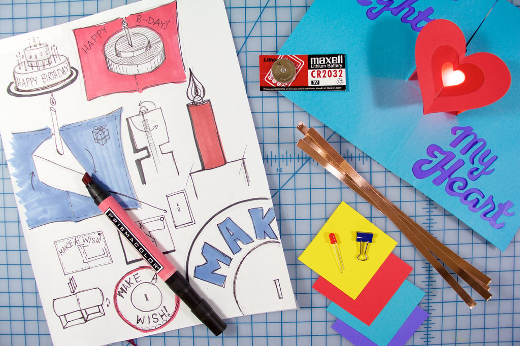 Circuit Sentiments Birthday Card Kit