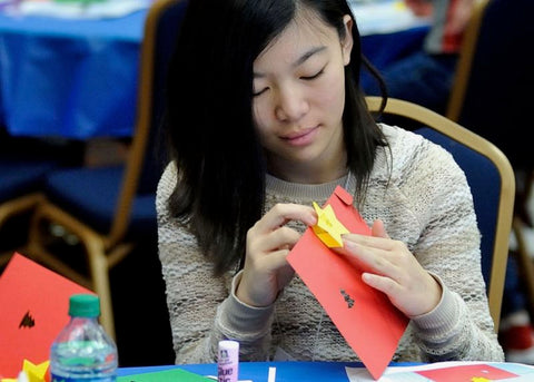 Photo from TechnoChic Light-Up Pop-Up Cards Workshop