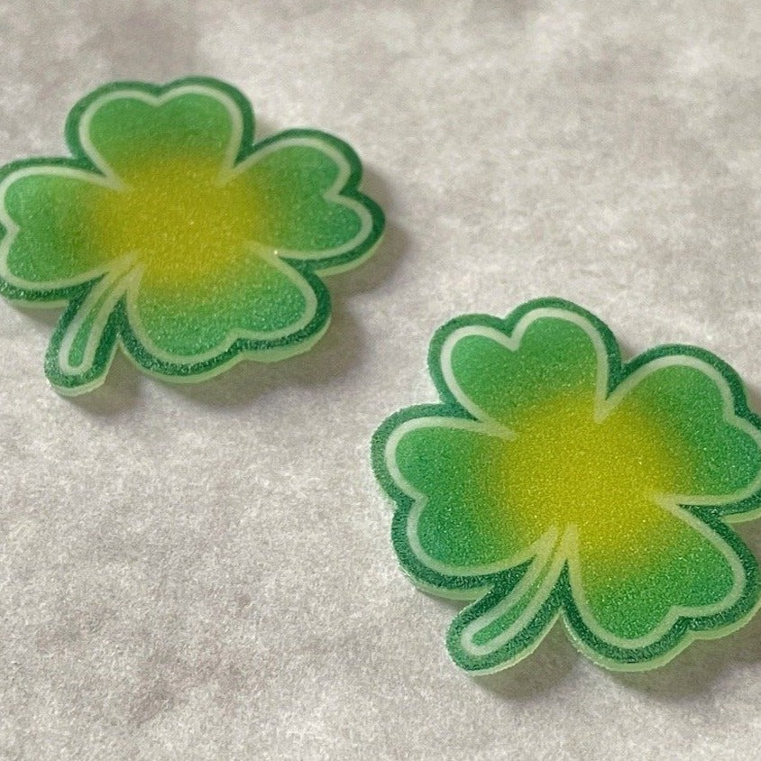 Printable Shamrocks PDF