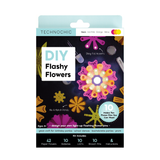 DIY Light Up Flashy Flowers Kit - Neon
