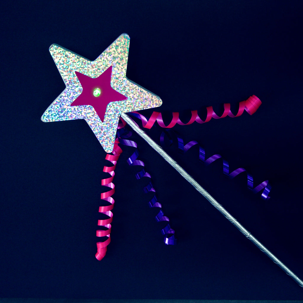 DIY Light-Up Magic Wand Kit