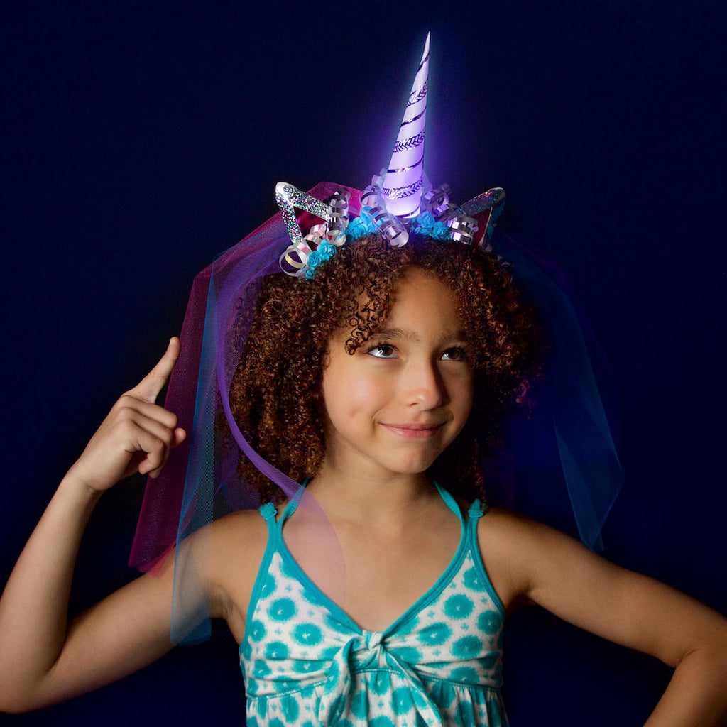 "DIY ""Be a Unicorn"" Deluxe Light-Up Unicorn Headband Kit"