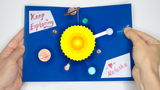 DIY Light-Up Pop-Up Card Kit - Space / Solar System