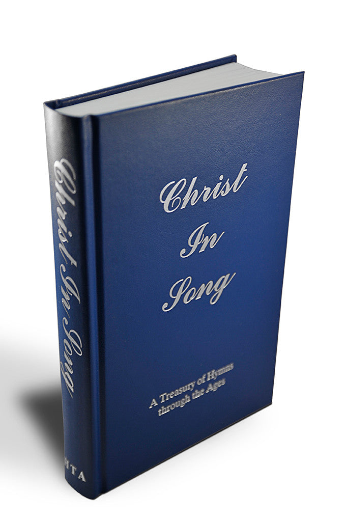 Christ in Song / Box of Hymnals / Hardcover - Hymn Treasury Archive