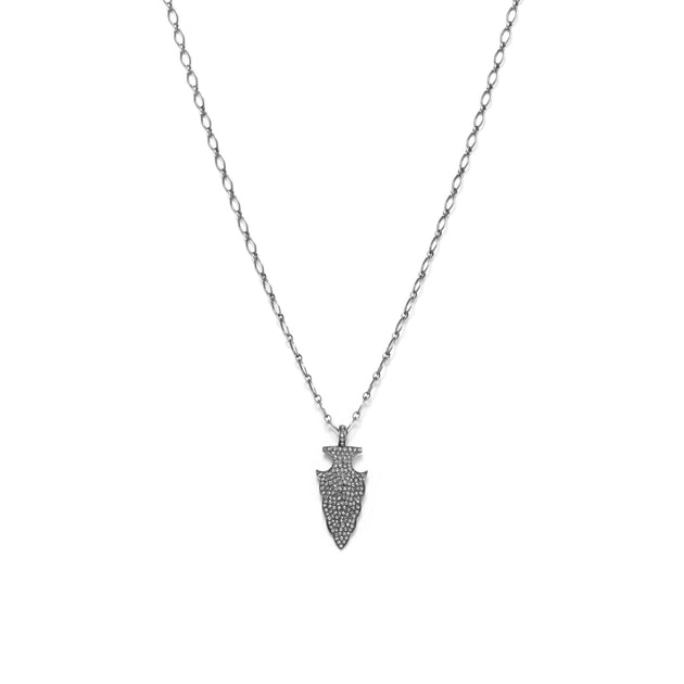 Pavé Diamond Arrowhead