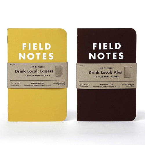 Field Notes Drink Local