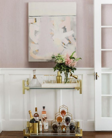 wine cart styling guide
