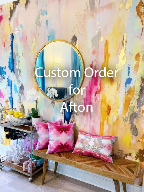 "Custom Coronado Wall Mural 69"" wide x 84"" tall  For Afton"