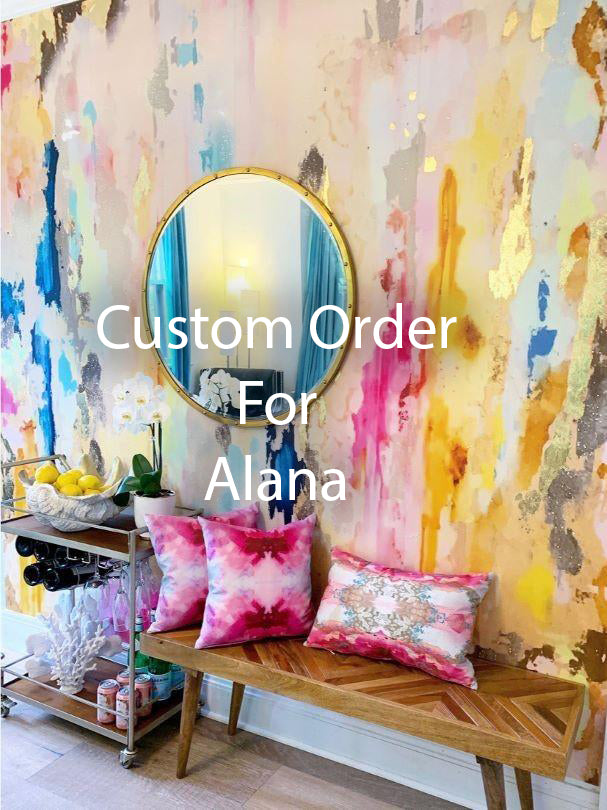 "Custom Coronado Wall Mural 87"" high x 16'1"" wide for Alana"
