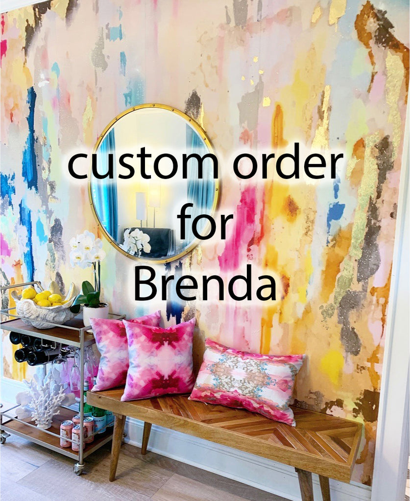 "Custom order For Brenda - Coronado Wall Mural 93"" x 133"""