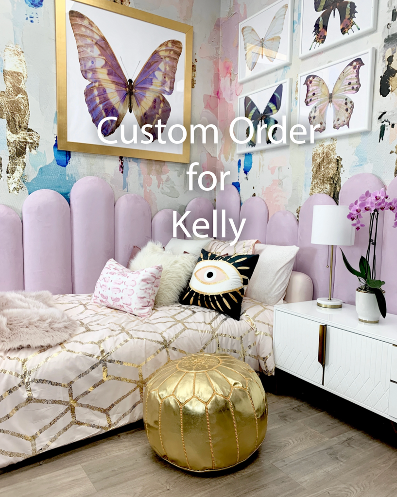 "Custom ""Pebble Beach"" Oversized Wall Mural 6' x 12' for Kelly"