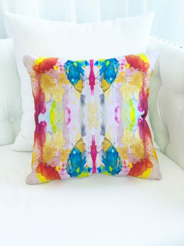 Muti color abstract pillow for sale