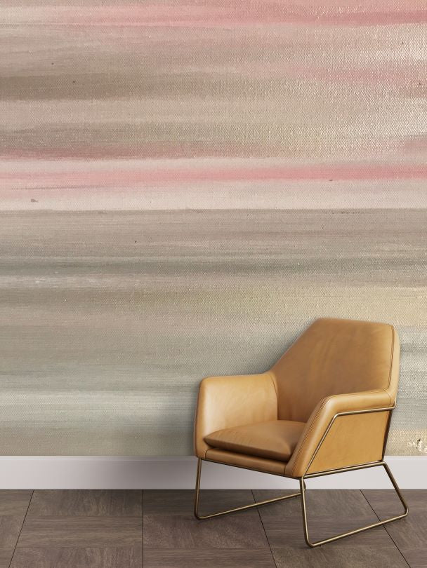 Blush and grey home wall mural,pink and grey abstract removable wall mural