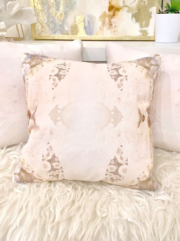 Pink Quartz Decor Pillow