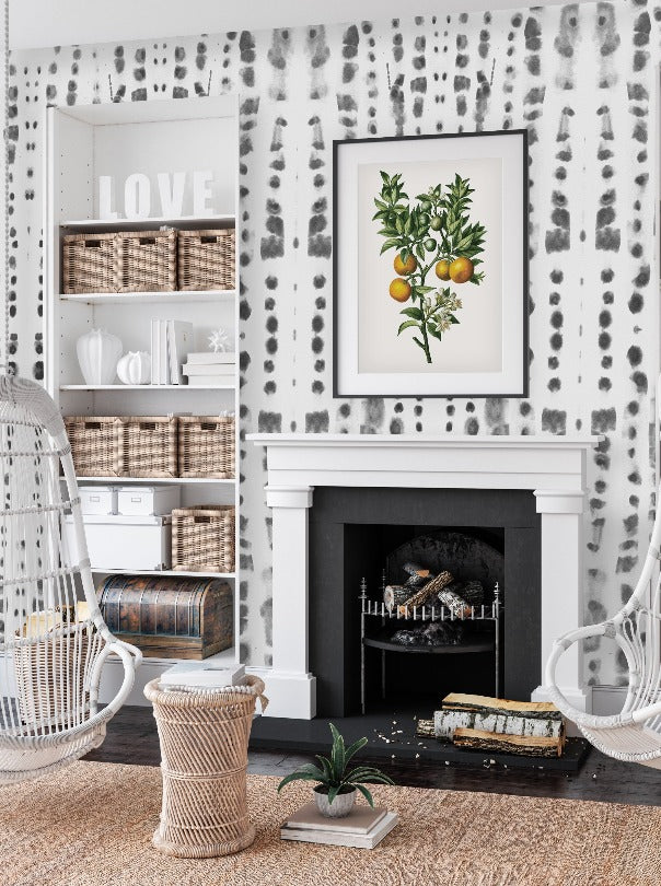 Farmhouse Modern Removable Wallpaper