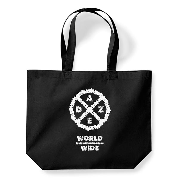Worldwide Tote Bag (Black)