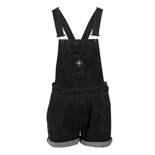 Dungaree Shorts (Black)