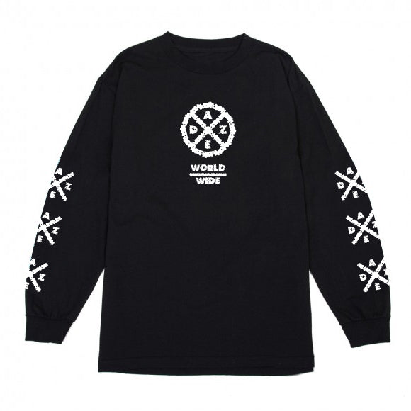 Daze Worldwide Longsleeve (Black)