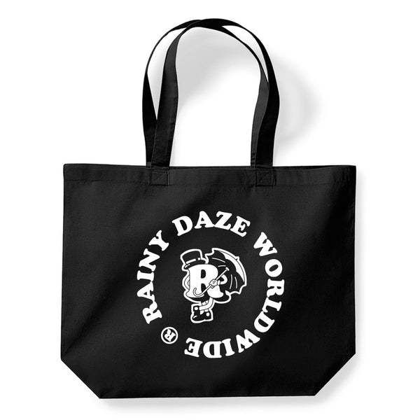 Mr. Rainy Daze Tote Bag (Black)