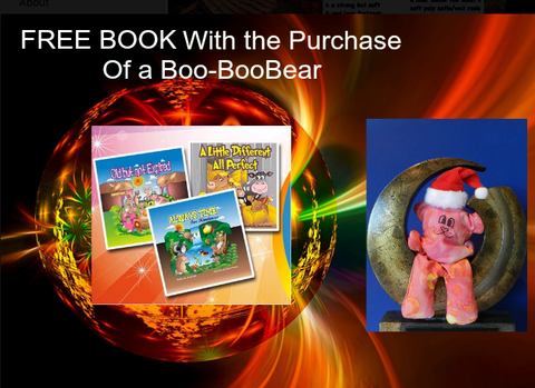 Free book with purchase of booboo-bear