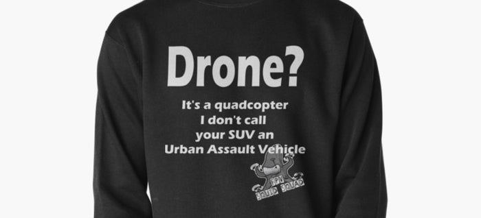 What is it? Drone or Quadcopter