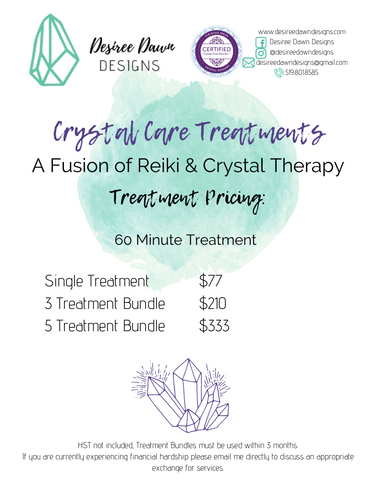 Crystal Therapy Treatments